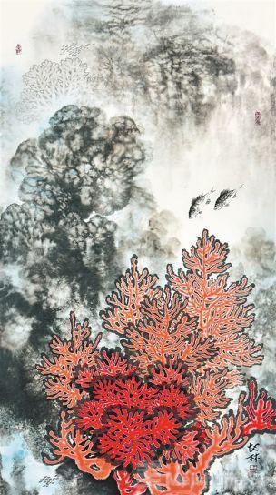 海南省书画院98幅作品描绘琼岛风貌