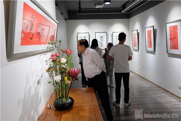 """""""会心不远——孙逸然书法艺术纪念展""""在京启幕"""