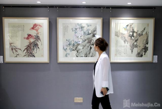 艺林苑艺术馆周年展暨当代书画名家作品展正式开幕