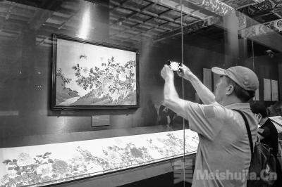 故宫古代花木题材文物今日展出 一批宋元书画首次亮相