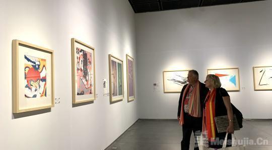 中德艺术家对话:跨越国界的版画作品联展开展