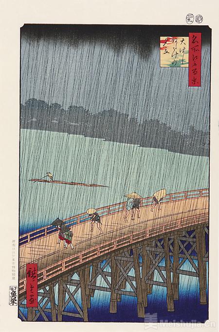 """""""生生·浮世之光""""浮世绘大展在北京举行——""""比起葛饰北斋,我更中意歌川广重"""""""