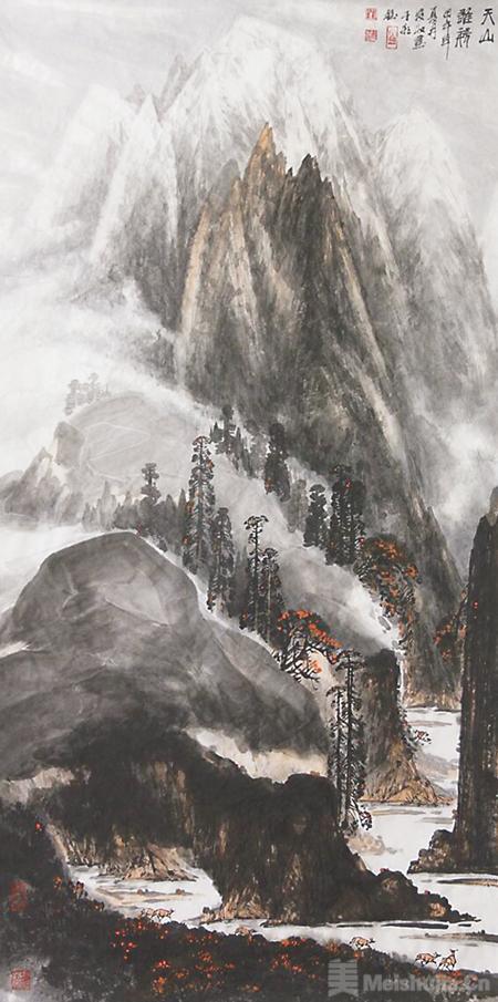 墨韵之间的况味——品刘麦收的中国画