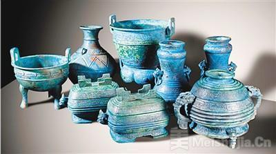 中国成功追索流失日本青铜组器