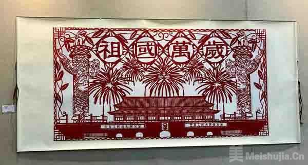 绵阳市民间工艺美术作品展在绵阳美术馆开展