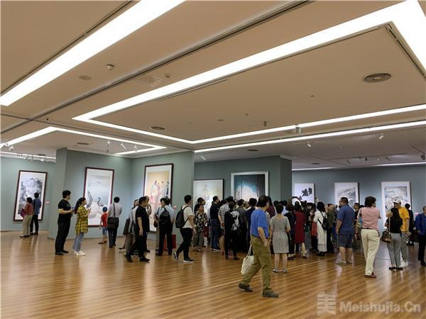"""151幅美术作品亮相""""美在京津冀""""展览"""