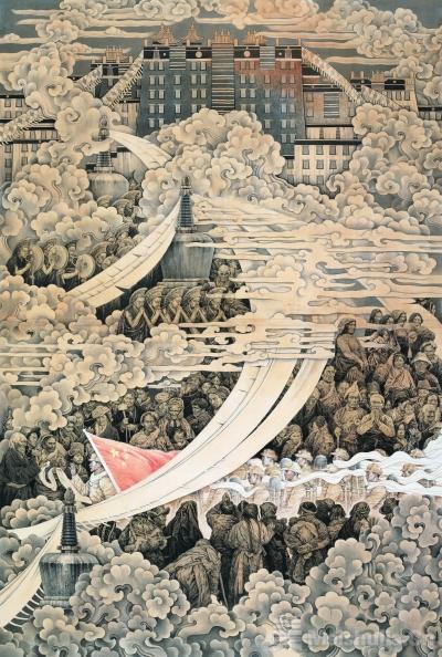 高原祥云——和平解放西藏