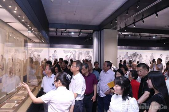 沿着鲁迅的道路--蒋兆和艺术作品展在京开幕