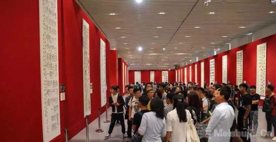 """""""盛世中国——庆祝中华人民共和国成立70周年书法大展""""在京呈展"""