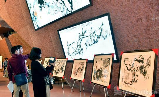 99岁国画大家刘伯骏捐作品义卖资助乡村教育
