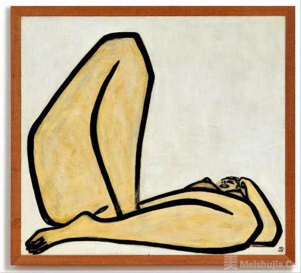 1.98亿港元!常玉《曲腿裸女》拍卖,刷新艺术家拍卖成交纪录
