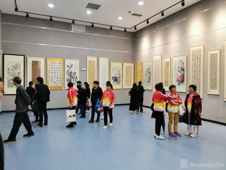 """宜阳县举办第二届""""九九重阳""""书画精品展"""