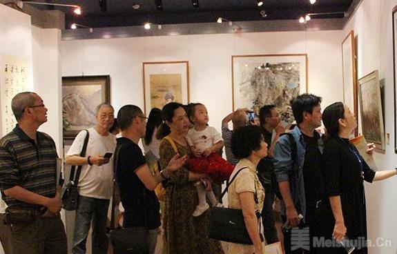 自贡第十七届文化艺术节美术书法摄影展落幕
