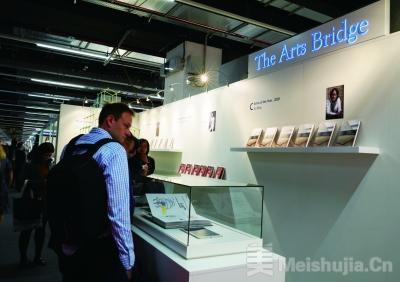 """寻求中西艺术交流新路径——""""艺术之桥""""三度亮相法兰克福书展"""