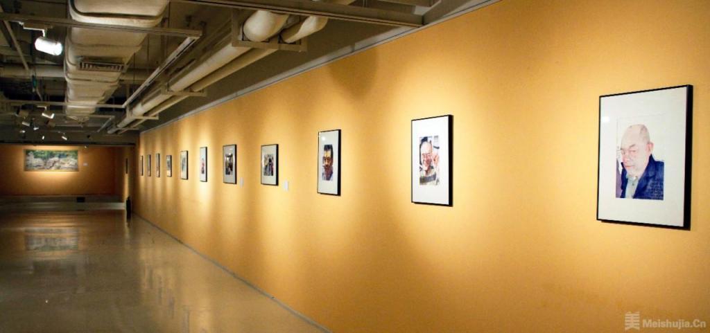 """第二届""""前行""""当代艺术展在山水美术馆正式启幕"""