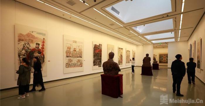 西北五省画院共同呈现丝路文明在当下 巡展北京收官