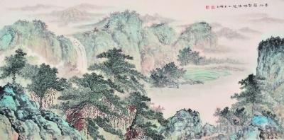 画为心相 慧由心生——李蝉羽山水画的创新之源