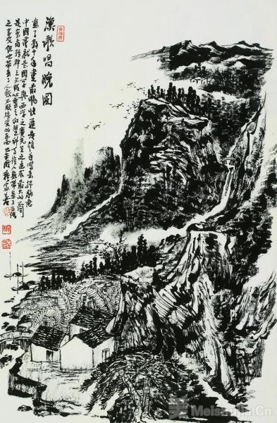 文化自觉与艺术修养——穆家善的中国画创作