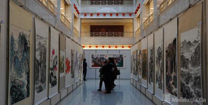 沈阳艺术节再添色彩 水墨幻境中感受书画文化魅力
