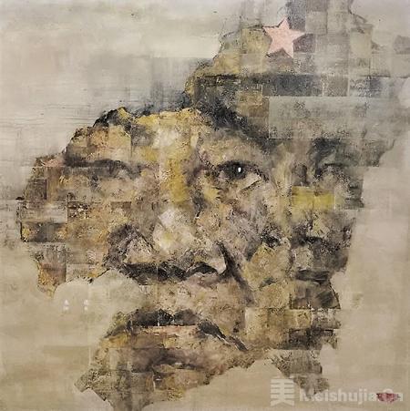 寻觅长征出发地的碎忆——谈刘向明的创作《长征者·我的红军前辈》