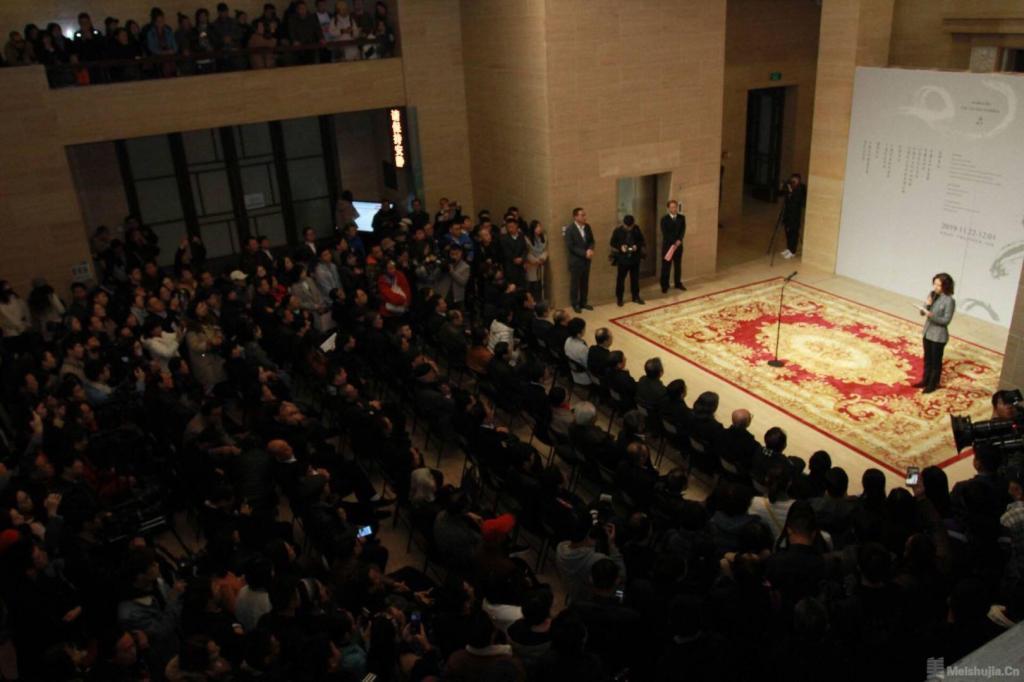 """高云""""天高云淡""""作品展在中国美术馆开幕"""