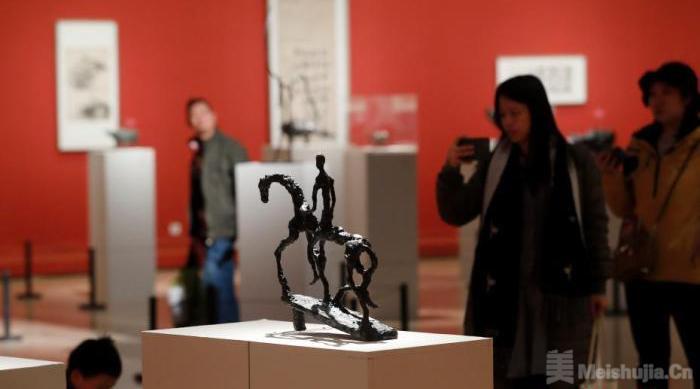 法籍华人艺术家熊秉明艺术展亮相中国美术馆