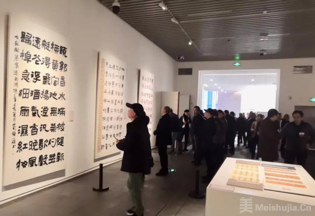 全国第十二届书法篆刻展览楷书隶书展在湖南长沙开幕