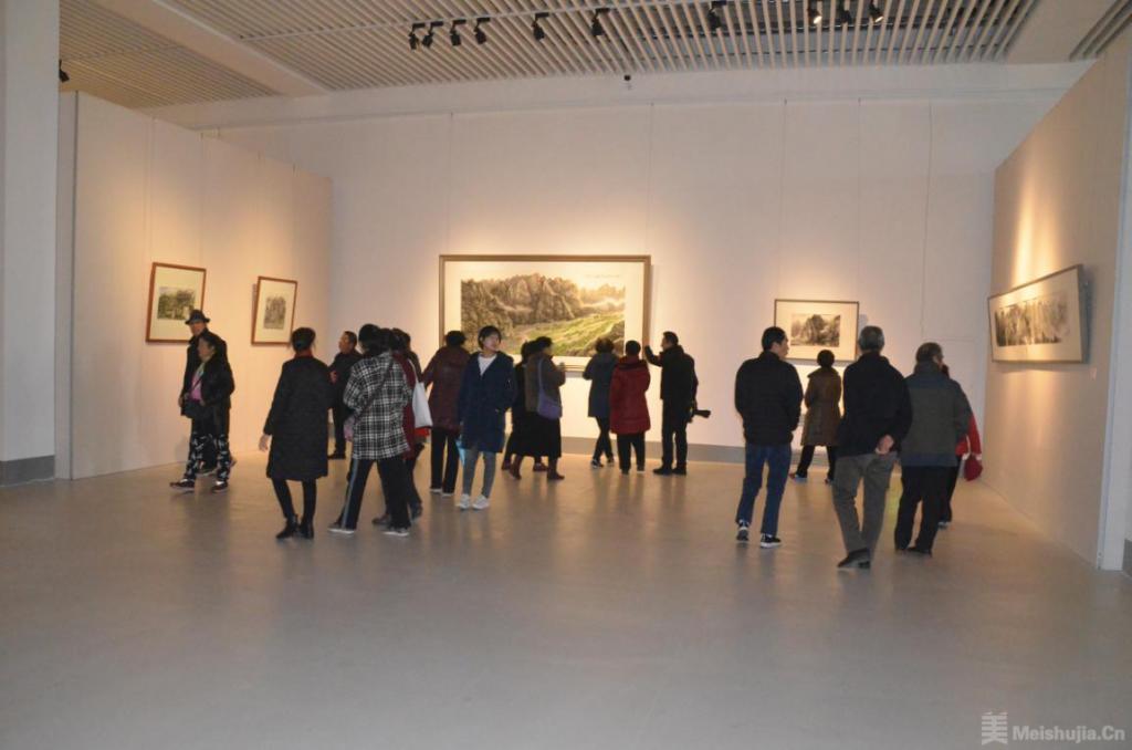 中国画名家画房山写生作品展在京开幕
