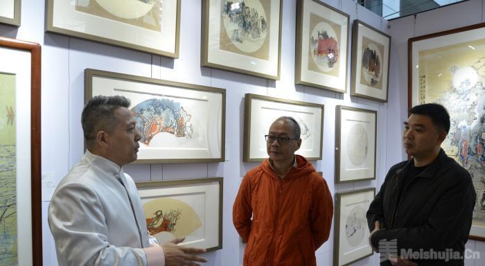 广州艺博会开幕 2万件艺术品参展