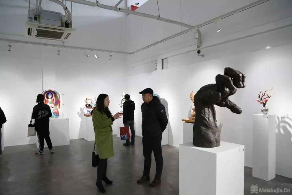 中央美术学院雕塑系第六工作室教学研究展开幕