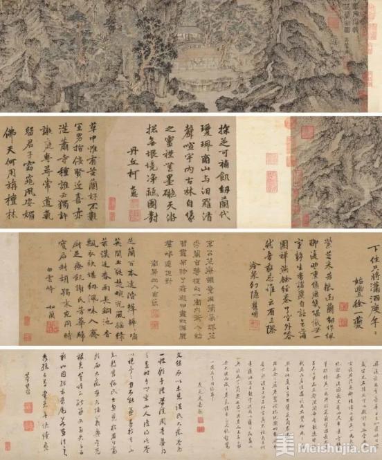 赵孟頫外孙的画作1.46亿成交 为啥还有人觉得便宜了?