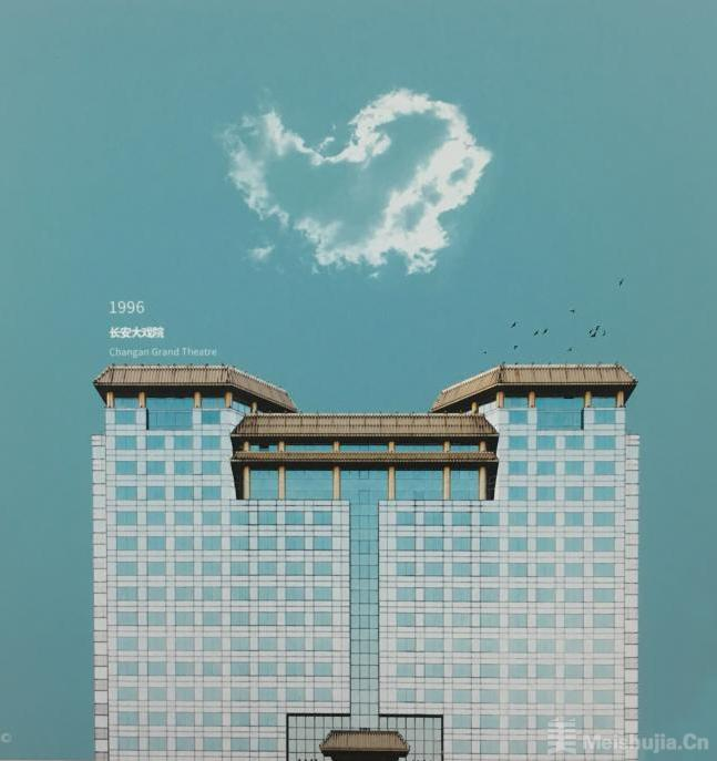 北京建筑肖像展打捞70年光影记忆