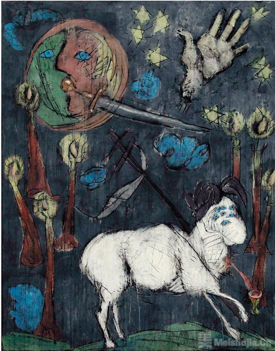 齐白石与吕佩尔茨展带来的启发:美术创作要个性