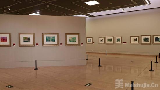 东方红·中国情:孟宪成艺术展在京开幕