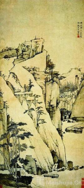 """山色翠微""""冷""""——弘仁《松壑清泉图》里的""""冷境"""""""