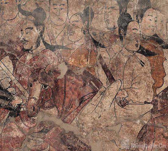 山西将展壁上乾坤:北齐壁画巅峰之作首展