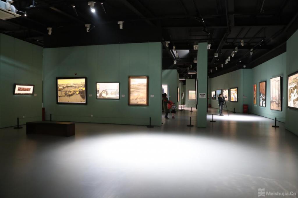 """""""得境取象""""第二届东亿中国油画作品展在东亿美术馆开幕"""