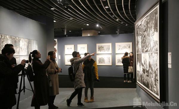 国家艺术基金青年艺术创作人才美术类作品巡展(北京站)开幕