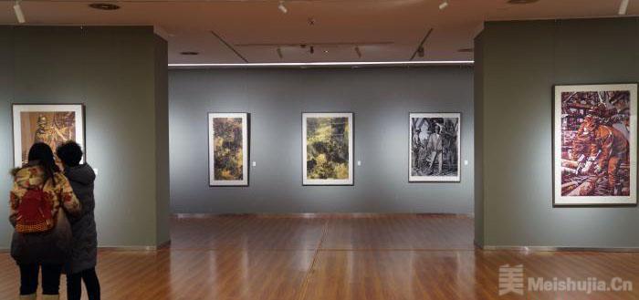 中国大庆工业版画作品32年后重返北京展出