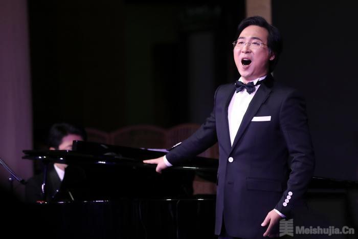 当音乐邂逅诗书画,廖昌永唱响中国美术馆