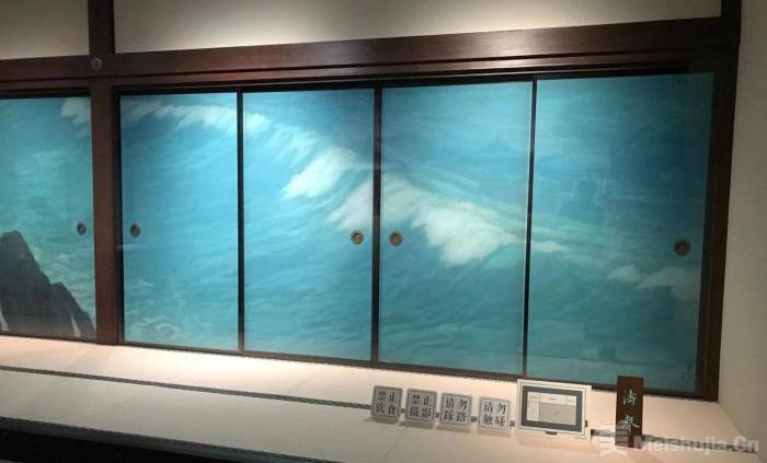 唐招提寺鉴真文物与东山魁夷隔扇画展在上海开幕
