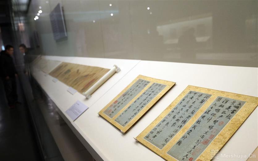 国博举办中国古代书画展