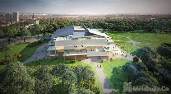 匈牙利国家画廊停建 耗资2.75亿美元