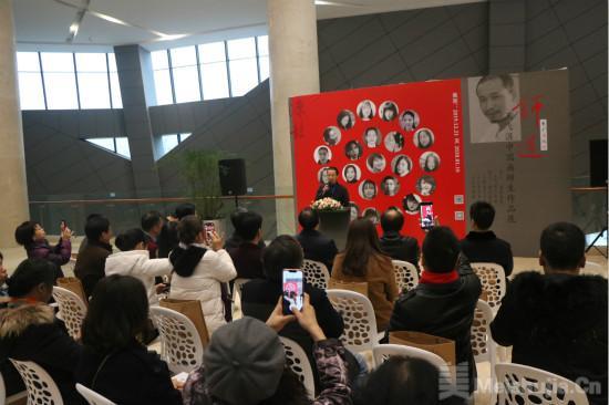师道-王飞涯中国画师生作品展在长沙开幕