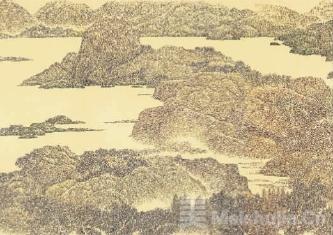 小画种成就大手笔——侯传芳的钢笔画创作与《八百里瓯江图》