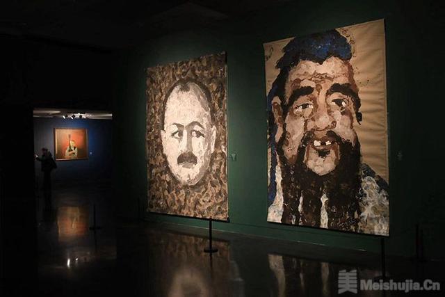 """""""上合组织""""成员国肖像画艺术展开幕"""