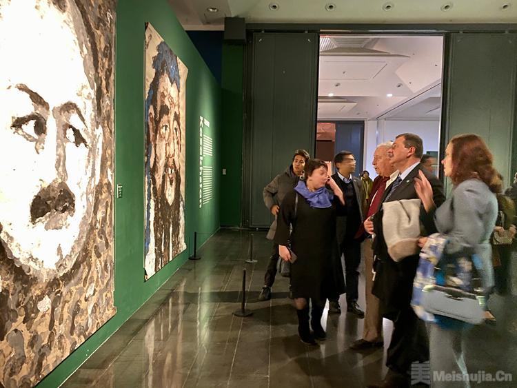 """""""途·象——'上合组织'成员国肖像画艺术展"""" 在京开幕"""