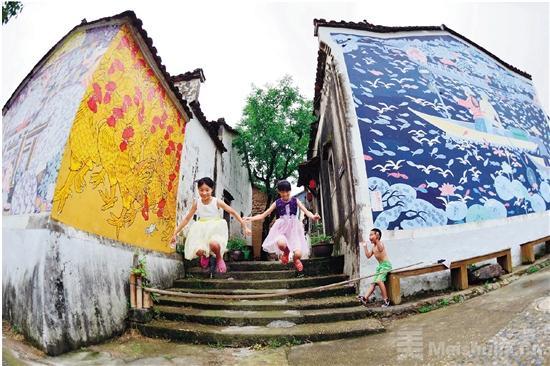 浙江衢州农民画进京跨年