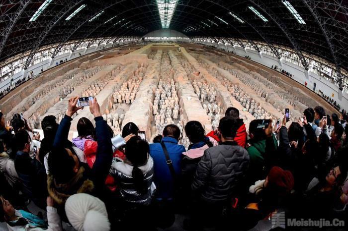 秦始皇帝陵博物院观众年接待量首次突破900万人次