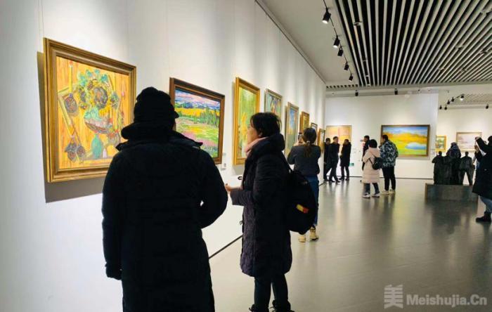 俄罗斯油画雕塑(美术)展在哈尔滨美术馆开幕